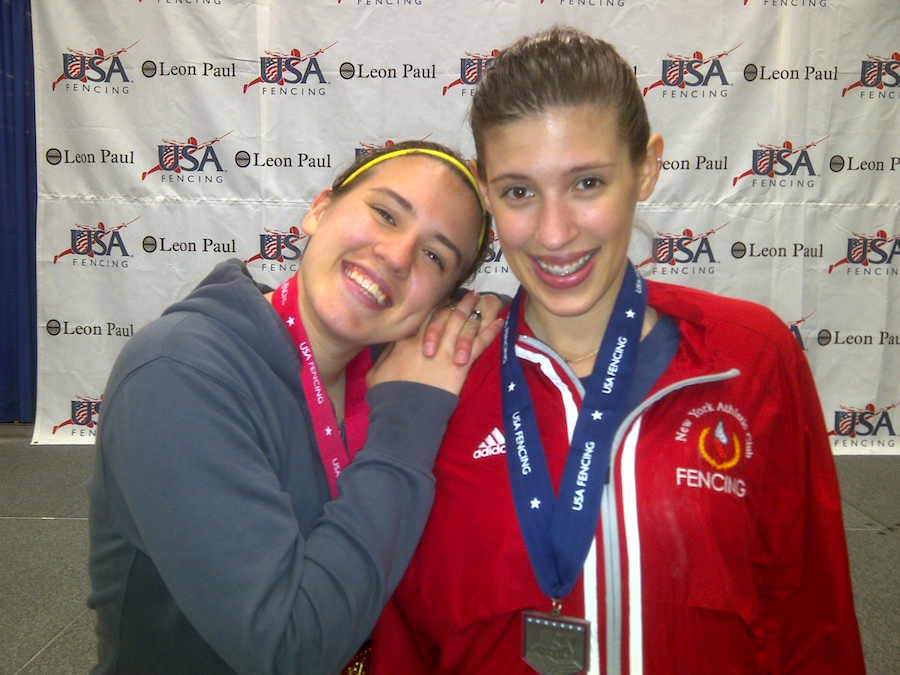 Courtney (left) and Kelley Hurley at a national tournament in Portland two years ago (2014). Courtesy photo.