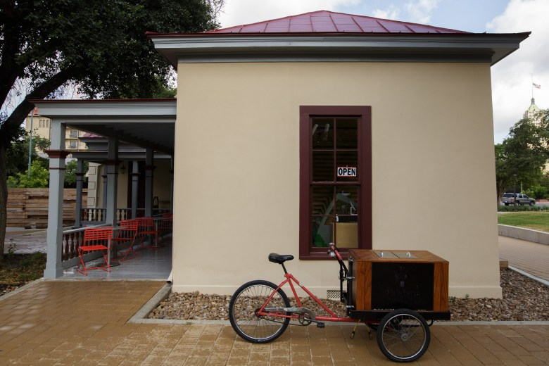 The Paleteria (pictured) and San Antonio B-Cycle are both located in the Pereida House. Photo by Scott Ball.