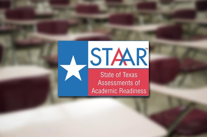 STAAR logo. Photo courtesy of the Texas Education Agency / The Texas Tribune.