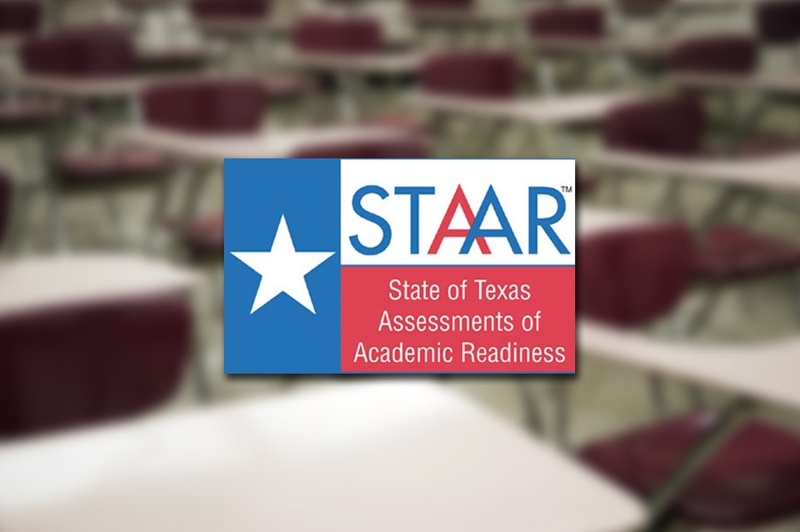 STAAR logo. Photo courtesy of the Texas Education Agency / The Texas Tribune.