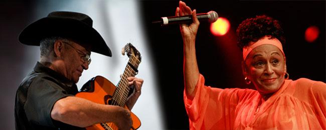 Eliades Ochoa and Omara Portuondo will perform at the Tobin Center Aug. 20. Courtesy photo.