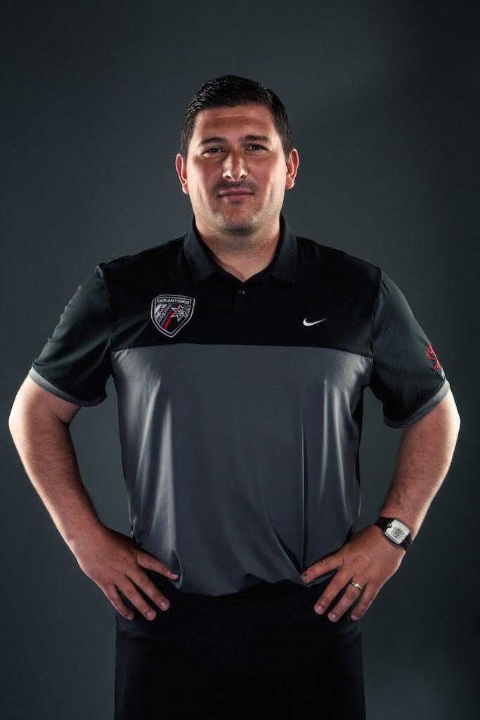 Nick Evans. Photo courtesy of San Antonio FC.