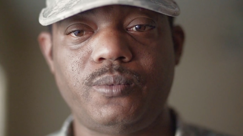 After returning to San Antonio from serving in the U.S. Army, Frederick Gardner had nowhere to go and found himself homeless. Photo by Kathryn Boyd-Batstone.