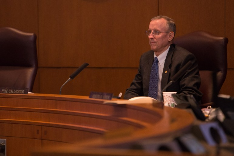 Councilman Mike Gallagher (D10). Photo by Scott Ball.