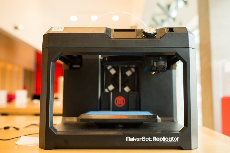 A 3D Printer will be on demonstration in the SAC Tech Store. Photo by Scott Ball.