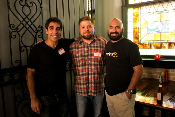 From left: SOLD Co-founders Khaled Sasfouri, Dax Moreno, and Lorenzo Gomez. Photo by Kathryn Boyd-Batstone.