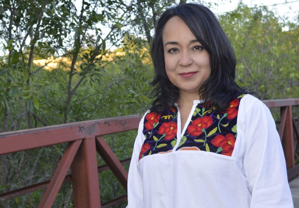 Cristina Ballí took over as the Guadalupe Cultural Arts Center's executive director on Sept. 12. Photo courtesy of the Guadalupe Cultural Arts Center.