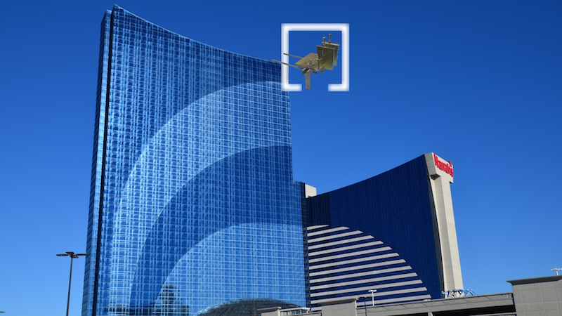 Halfen USA products were used to construct Harrah's Hotel in Las Vegas. Photo courtesy of Halfen USA.
