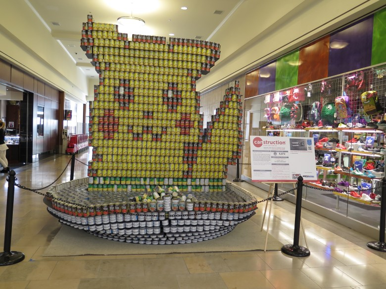 """""""Poke-Can Go - End-Hunger"""" by HEB Design and Construction. Photo by James McCandless"""