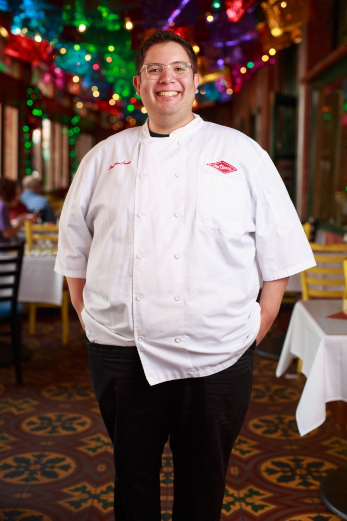 Jonathan Cortez has been serving Mi Tierra for 20 years. Photo by Scott Ball.