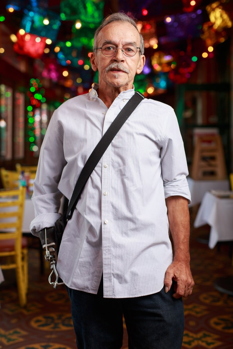 Jesse Trevino has been visiting Mi Tierra for 50 years. Photo by Scott Ball.