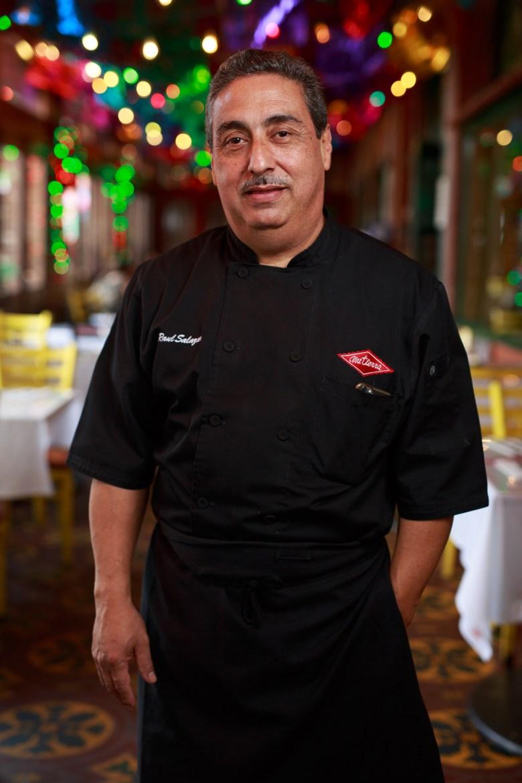 Raul Salazar has served Mi Tierra for 45 years. Photo by Scott Ball.
