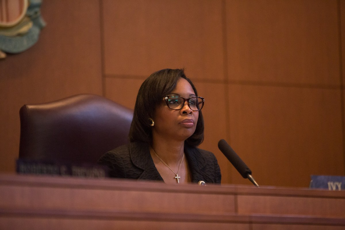 Mayor Ivy Taylor. Photo by Scott Ball.