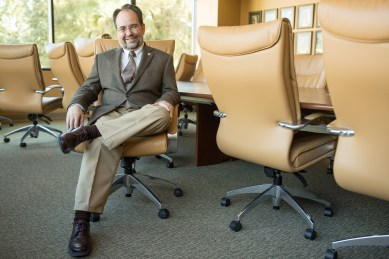 H.B. Cavalcanti is director of strategy and evaluation at the San Antonio Area Foundation.  Photo by Scott Ball.