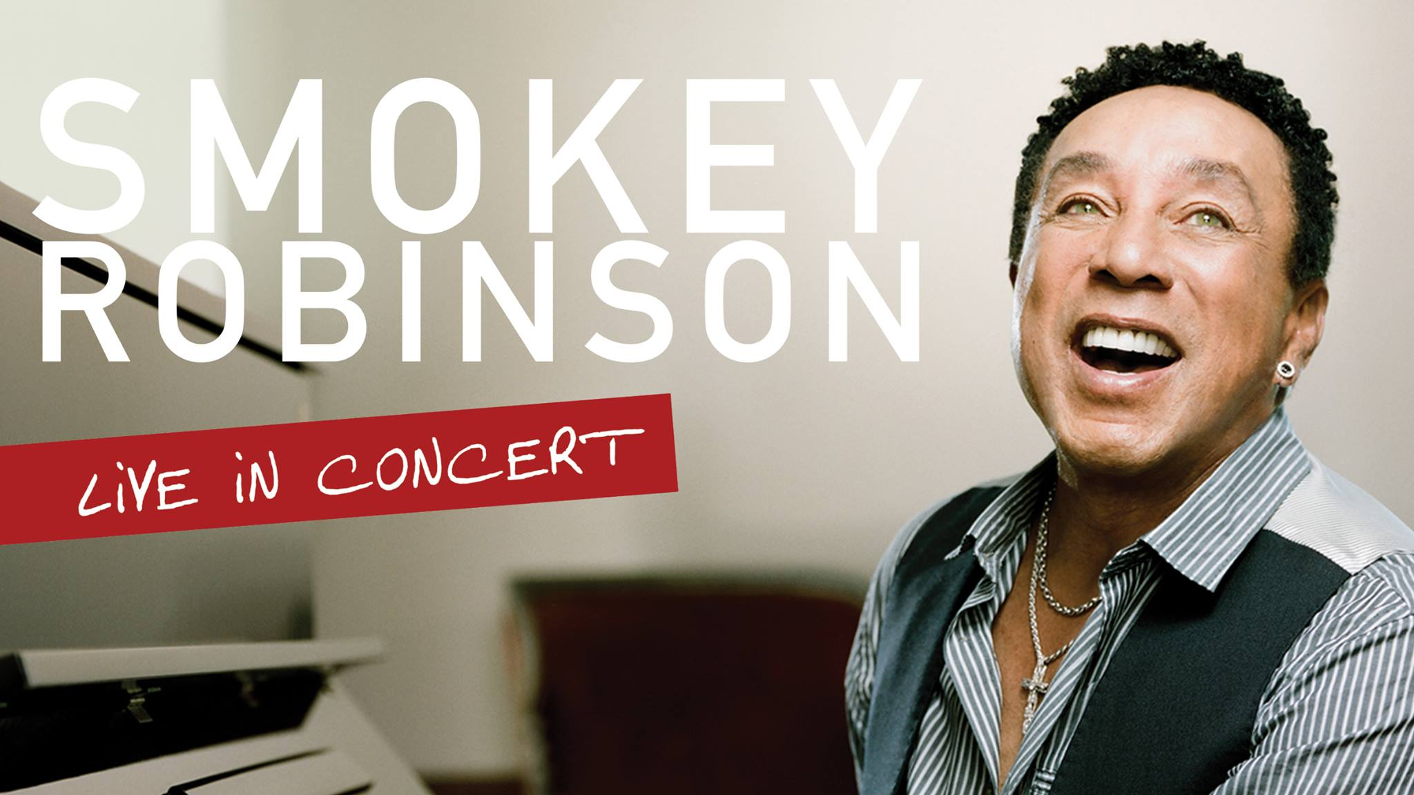 Miracles hitman Smokey Robinson will bring the Motown Sound to the Majestic Theatre on October 8. Courtesy image.
