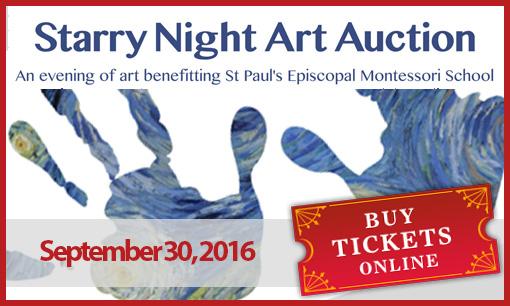 Purchase tickets online at http://stpaulsmontessori.org/starrynight/
