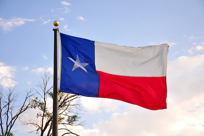 The Texas flag. Photo by Kimberly Vardeman via flickr.