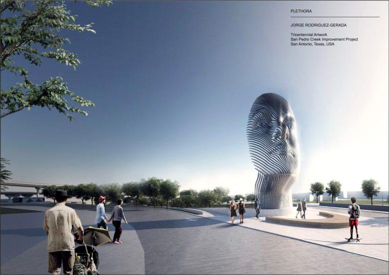 Plethora, the Tricentennial public art piece by Jorge Rodriguez-Gerada.