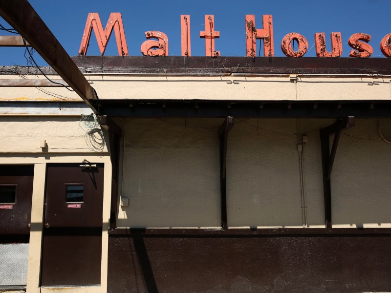 Malt House on 115 South Zarzamora Street. Photo by Scott Ball.
