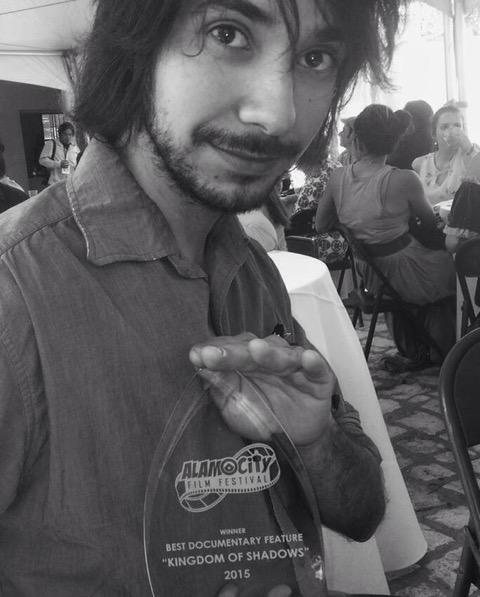 Antonio Cisneros, award-winning cinematographer of Kingdom of Shadows at 2015's Alamo City Film Festival.