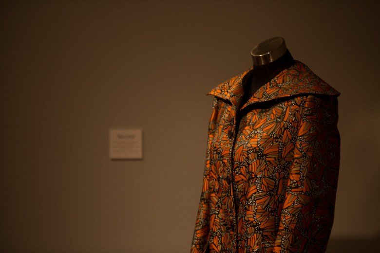 Instituto Cultural de México's gallery was filled with clothing by designer Pineda Covalin.