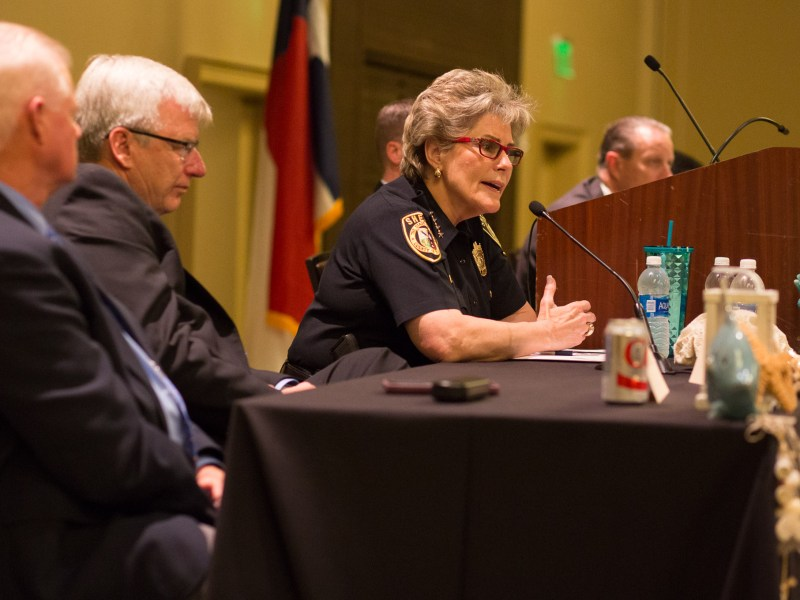 Bexar County Sheriff Susan Pamerleau offers ideas on how to prevent suicide in jails.