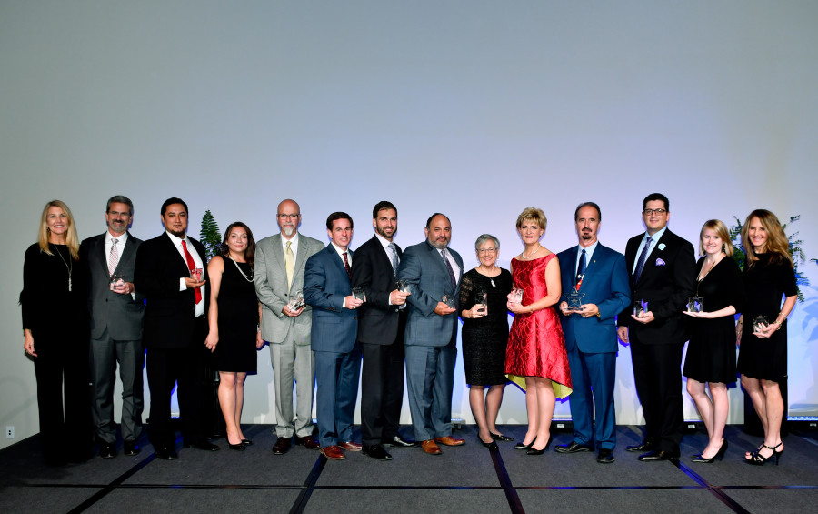 The winners of the 2016 North San Antonio Chamber Small Business Leaders Awards. Photo courtesy of the North San Antonio Chamber.