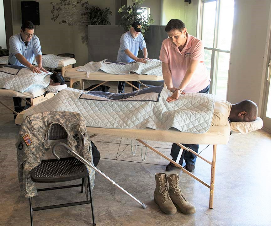 Vet TRIIP provides free, integrated therapy sessions to help veterans with their pain and stress.