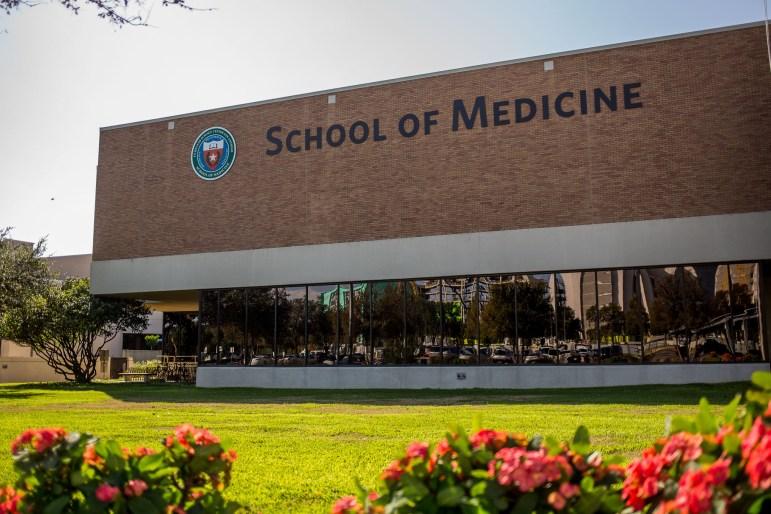 School of Medicine at University of Texas Health Science Center San Antonio.