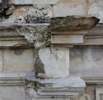 Parts of the Alamo's structure are deteriorating.