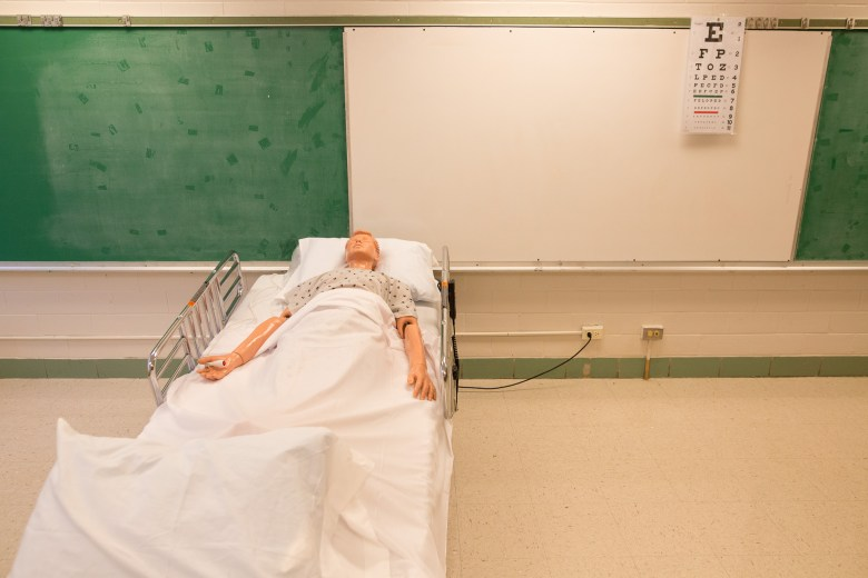 A medical specialty classroom at the Eastside Education Training Center.