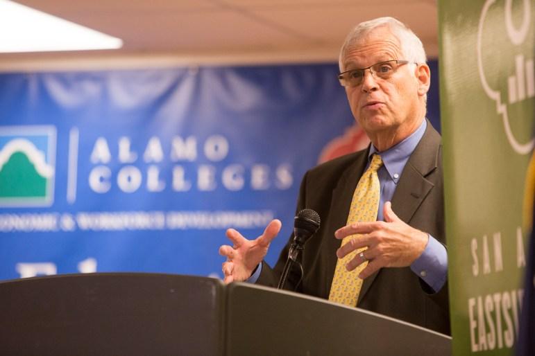 Alamo Colleges Chancellor Dr. Bruce Leslie.