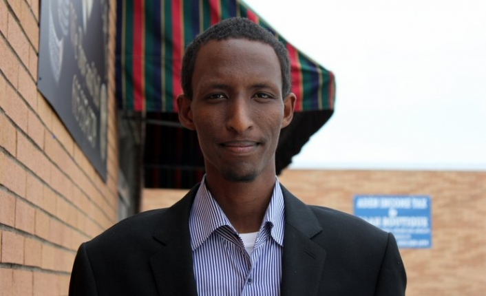 Mohamed-Shukri Hassan was part of the first MyCity Academy class in 2012 and now helps refugees start businesses.