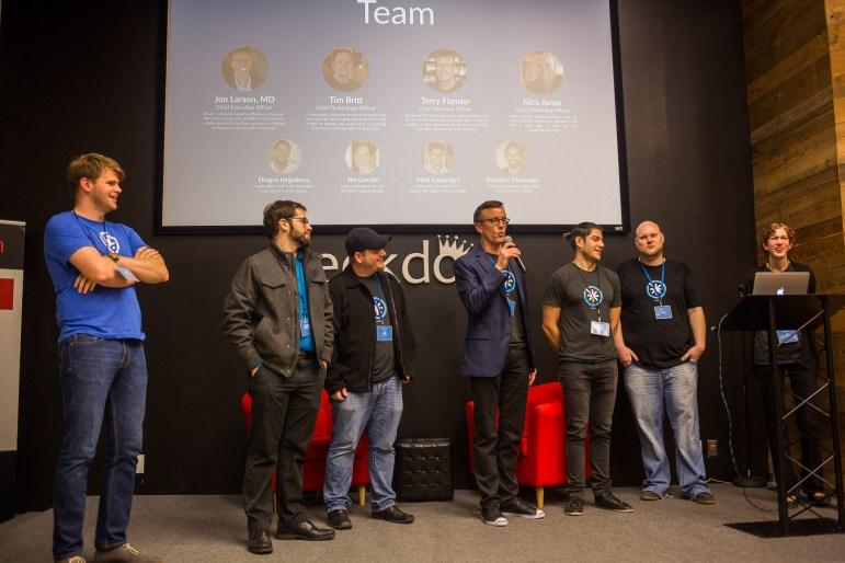 MedSpoke Founder and CEO Dr. Jon Larson introduces his team.