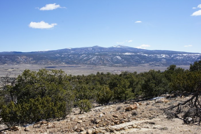 Mount Taylor in New Mexico, a sacred site to the Zuni who believe it is a living being.