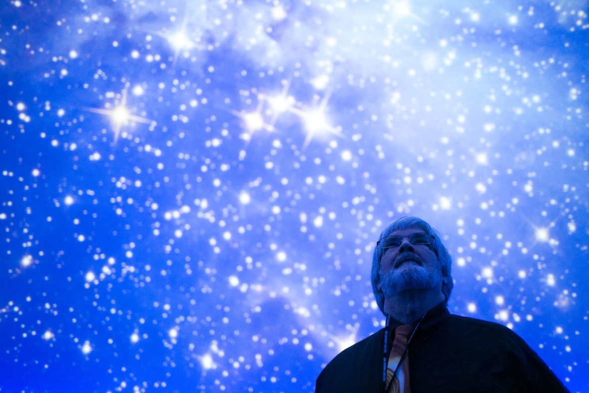 San Antonio College Planetarium Coordinator Bob Kelley retired on Jan. 27, 2017.