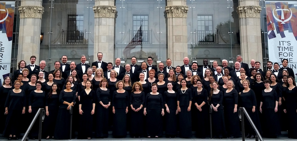 The San Antonio Choral Society at the Tobin Center for the Performing Arts.