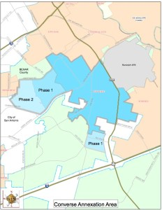 Converse Annexation Area
