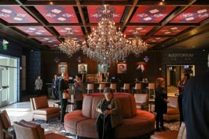 The main lobby at Santikos Embassy 14.