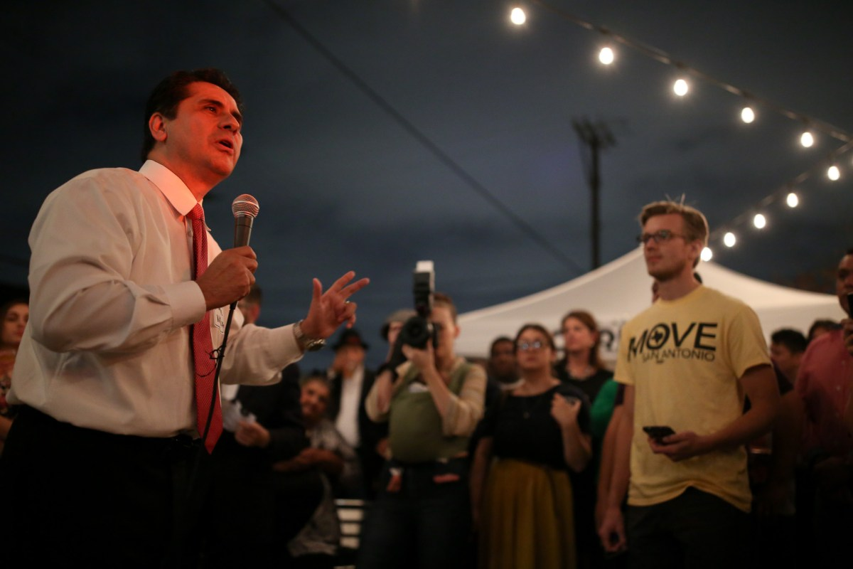 Mayoral candidate Manuel Medina shares his vision on the future of San Antonio.