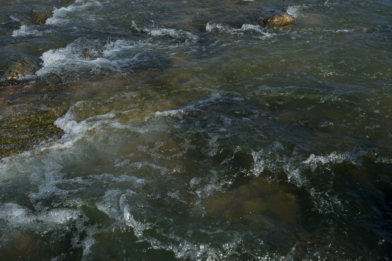 The San Antonio River.
