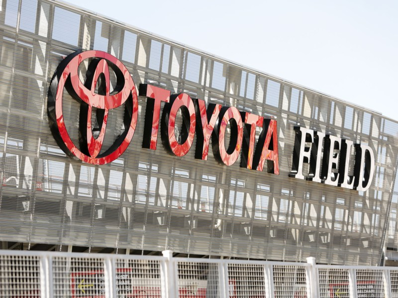 Toyota Field.