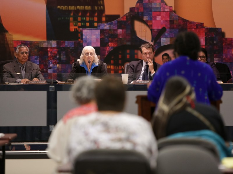 SAISD Board members approve a resolution that calls for changes to existing gun laws and school funding schemes at the national level.