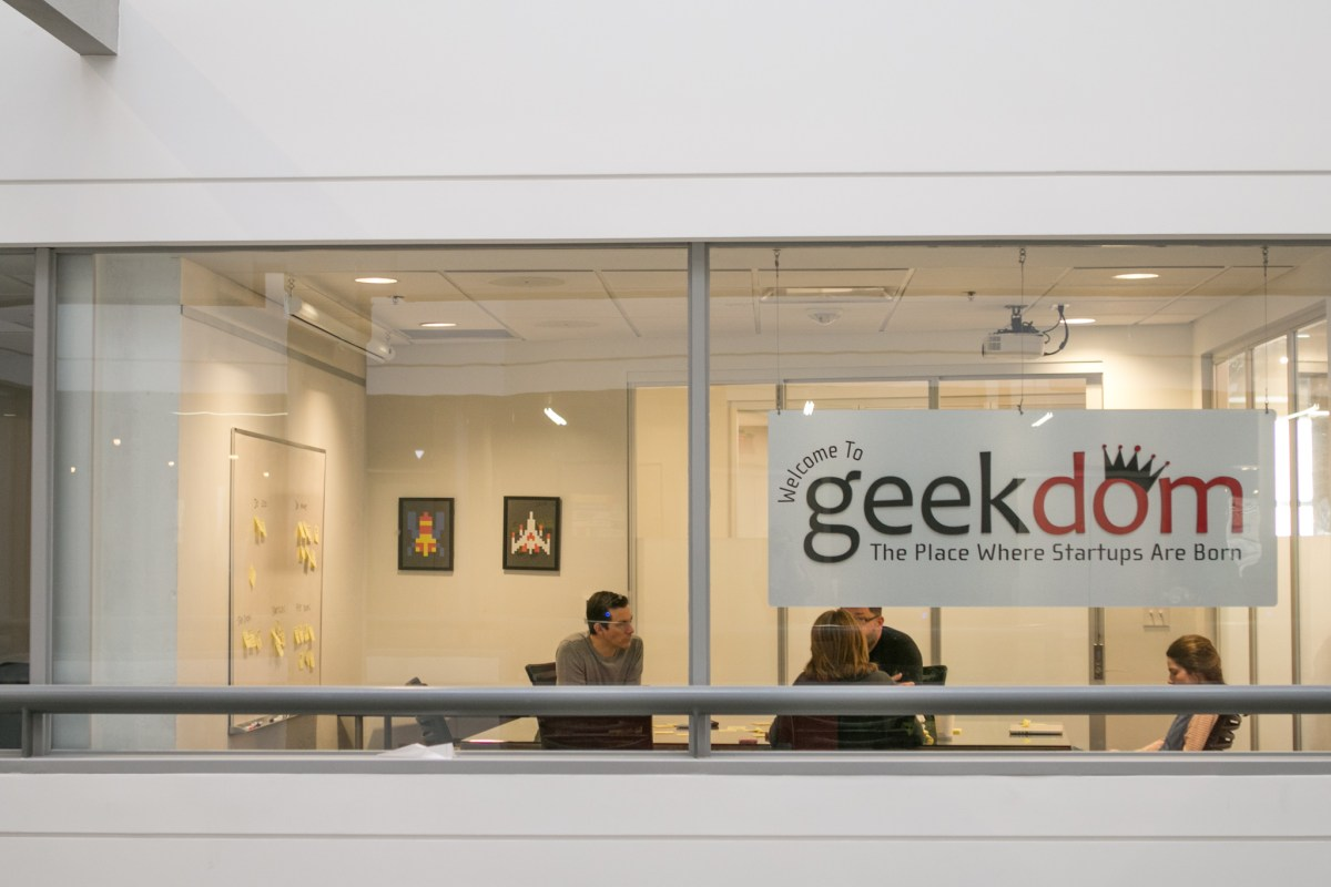 Geekdom Stock Image