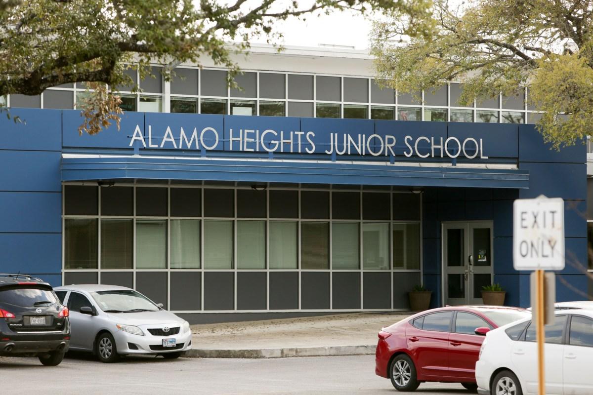 Alamo Heights Junior School.