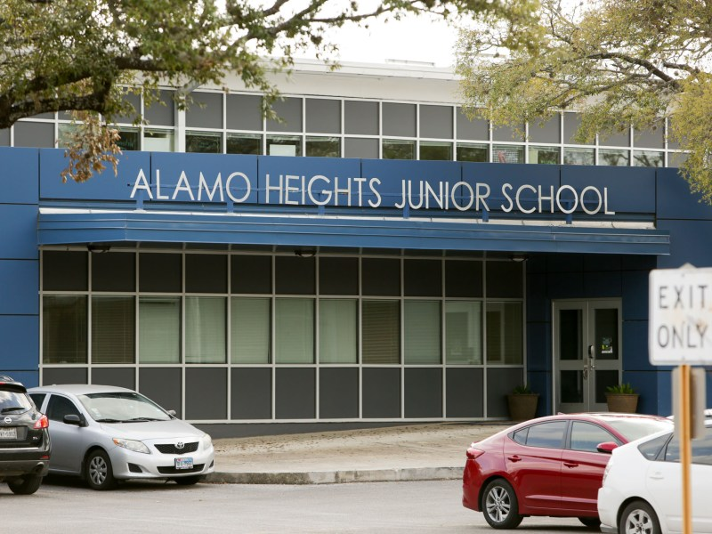 Alamo Heights Junior School.