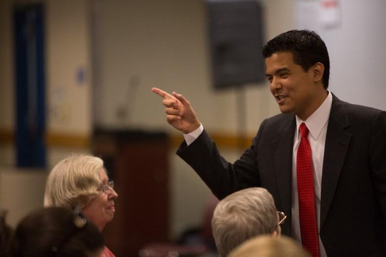 District 10 candidate John Alvarez