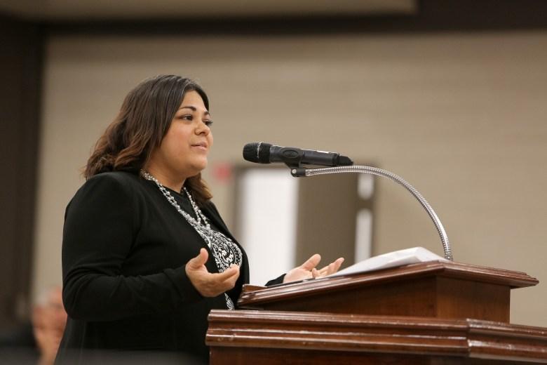 Christina Martinez has been selected the San Antonio ISD District 6 Board Trustee.