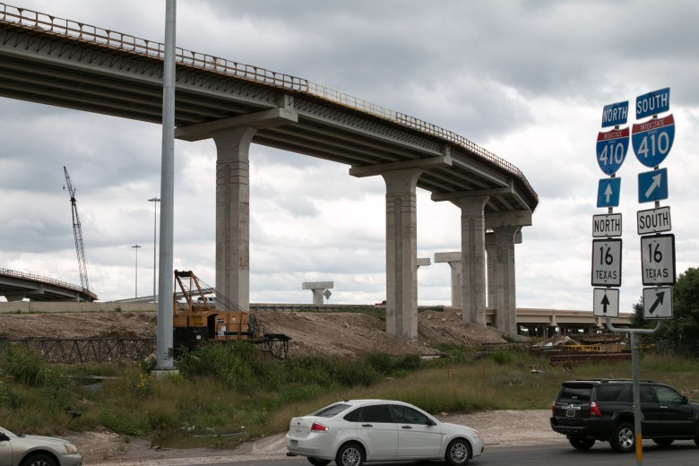Construction is happening where 410 meets 151 in District 6.