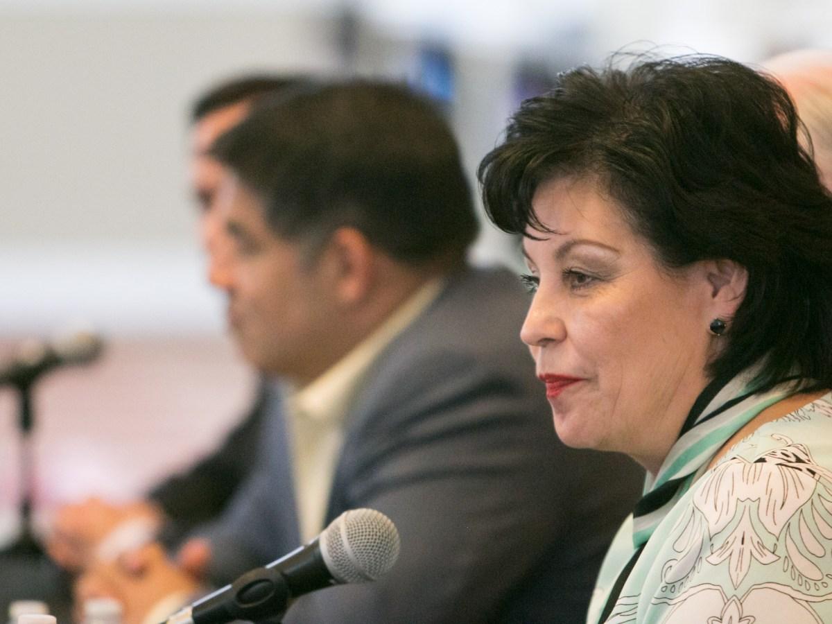 District 8 Candidate Cynthia Brehm.